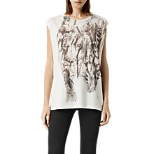 Buy AllSaints Prowl Brooke T-Shirt Online at johnlewis.com