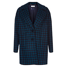 Buy Hobbs Rae Coat, Dark Kingfisher Navy Online at johnlewis.com