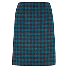 Buy Hobbs Rae Skirt, Dark Kingfisher Navy Online at johnlewis.com