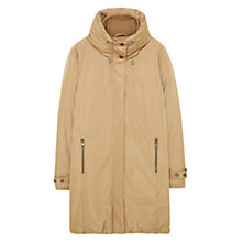 Buy Mango Feather and Down Filled Funnel Neck Parka, Sand Online at johnlewis.com