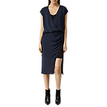 Buy AllSaints Kelso Dress, Ink Blue Online at johnlewis.com