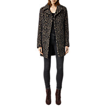 Buy AllSaints Nala Coat, Leopard Online at johnlewis.com