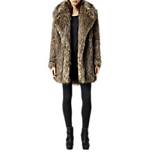 Buy AllSaints Elya Coat, Natural Online at johnlewis.com