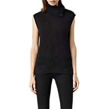 Buy AllSaints Malin Tank, Cinder Marl Online at johnlewis.com