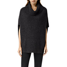 Buy AllSaints Louis Cowl Neck Jumper Online at johnlewis.com