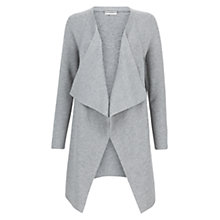 Buy Hobbs Kim Cardigan, Grey Melange Online at johnlewis.com
