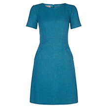 Buy Hobbs Natalia Dress, Kingfisher Blue Online at johnlewis.com