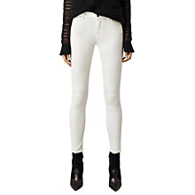 Buy AllSaints Grace Jeans, Off White Online at johnlewis.com