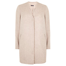 Buy Mint Velvet Wool Blend Coat, Camel Online at johnlewis.com