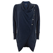 Buy Mint Velvet Overdye Longline Cardigan, Indigo Online at johnlewis.com