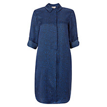 Buy Hobbs Meredith Spot Tunic, Electric Blue Online at johnlewis.com
