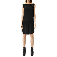 Buy AllSaints Elia Dress, Black Online at johnlewis.com