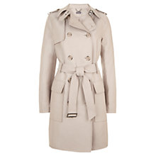 Buy Mint Velvet Trench Coat, Camel Online at johnlewis.com