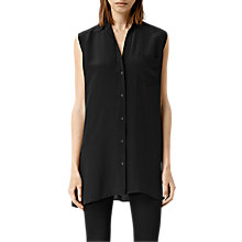 Buy AllSaints Ellis Sleeveless Shirt Online at johnlewis.com