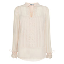 Buy Coast Madolyn Grace Blouse, Blush Online at johnlewis.com
