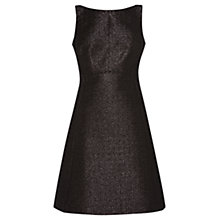 Buy Coast Jimena Lurex Dress, Bronze Online at johnlewis.com