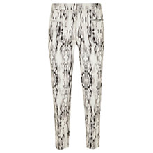 Buy Mint Velvet Yazmin Printed Capri Trousers, Multi Online at johnlewis.com