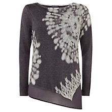 Buy Mint Velvet Neema Asymmetric Knitted Top, Multi Online at johnlewis.com