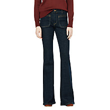 Buy Mango New Flare Jeans, Open Blue Online at johnlewis.com