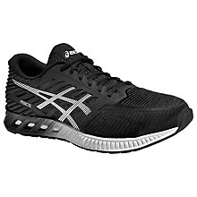 Buy Asics Fuze X Men's Running Shoes, Black/White/Onyx Online at johnlewis.com