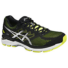 Buy Asics GT-2000 4 Men's Running Shoes, Flash Yellow/Black Online at johnlewis.com