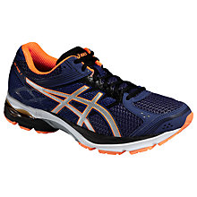 Buy Asics Gel-Pulse 7 Running Shoes, Deep Cobalt/Silver Online at johnlewis.com
