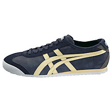 Buy Onitsuka Tiger Mexico 66 Men's Trainers, Navy/Cream Online at johnlewis.com