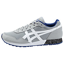 Buy Asics Curreo Men's Trainers, Grey/White Online at johnlewis.com