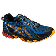 Buy Asics Gel-Sonoma 2 Trail Running Shoes, Snorkel Blue/Apricot Online at johnlewis.com