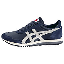 Buy Onitsuka Tiger Dualio Men's Trainers, Navy/White Online at johnlewis.com