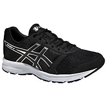 Buy Asics Patriot 8 Running Shoes, Black/Onyx Online at johnlewis.com