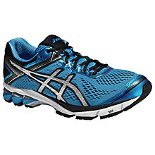 Buy Asics GT-1000 4 Men's Running Shoes, Methyl Blue/Silver Online at johnlewis.com