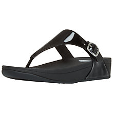 Buy FitFlop The Skinny Patent Sandals Online at johnlewis.com