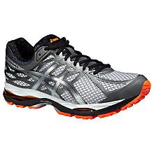 Buy Asics Gel-Cumulus 17 Running Shoes, Smoked Pearl/Black Online at johnlewis.com