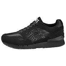 Buy Asics Tiger GEL-Atlantis Men's Trainers, Black Online at johnlewis.com