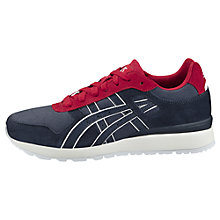 Buy Asics Tiger GT-II Men's Trainers, Navy/Red Online at johnlewis.com