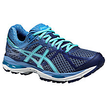 Buy Asics Gel-Cumulus 17 Women's Running Shoes, Deep Cobalt/Turquoise Online at johnlewis.com