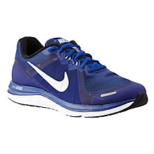 Buy Nike Men's Dual Fusion X2 Running Shoes, Deep Royal Blue/Silver Online at johnlewis.com