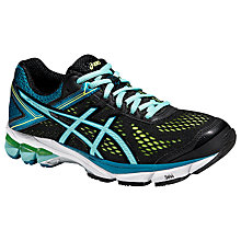 Buy Asics GT-1000 4 Women's Structured Running Shoes, Black/Blue Online at johnlewis.com