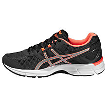 Buy Asics Gel-Galaxy 8 Women's Running Shoes, Dark Grey/Flash Coral Online at johnlewis.com