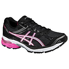 Buy Asics Gel-Pulse 7 Women's Running Shoes, Black/Pink Online at johnlewis.com