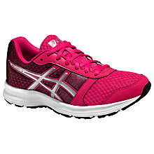 Buy Asics Patriot 8 Women's Running Shoes, Azalea/Silver Online at johnlewis.com