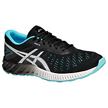 Buy Asics Fuze X Lyte Women's Running Shoes, Onyx/White/Turquoise Online at johnlewis.com