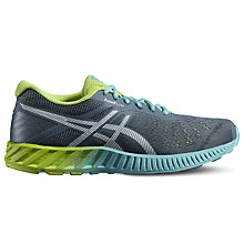 Buy Asics fuzeX Lyte Women's Running Shoe, Blue Mirage/Sharp Green Online at johnlewis.com