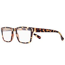 Buy Magnif Eyes Ready Readers Laramie Glasses, Tortoise Online at johnlewis.com
