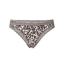Buy Calvin Klein Bikini Briefs, Tactile Animal Online at johnlewis.com
