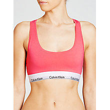 Buy Calvin Klein Modern Cotton Bralette Online at johnlewis.com
