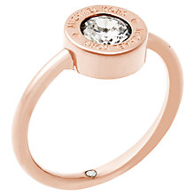 Buy Michael Kors Logo Ring Online at johnlewis.com