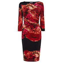 Buy Coast Pollensa Print Harmony Dress, Red Online at johnlewis.com