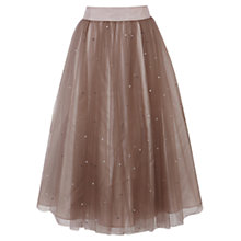 Buy Coast Selbessa Tulle Skirt, Blush Online at johnlewis.com